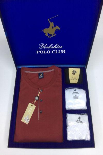 Polo Club Pijama Çamaşır Çorap Damat Set