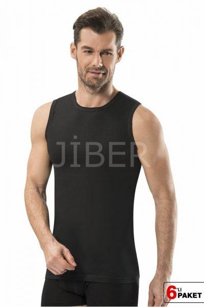 6'LI Jiber Erkek O Yaka Sıfır Kol Atlet - 114